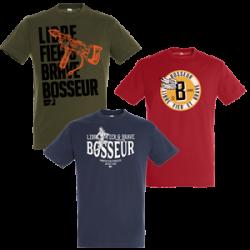 Lot de 3 tee shirts BOSSEUR
