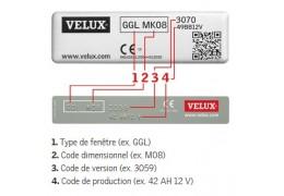 Retrouver l'année et le mois de production de votre produit Velux